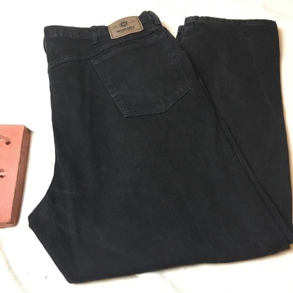 3ab3bf7d Wrangler Jeans | Relaxed Fit Coal Black | Poshmark